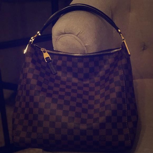 38a54ee6c235 Louis Vuitton Handbags - Authentic Louis Vuitton Damier Ebene PORTOBELLO PM